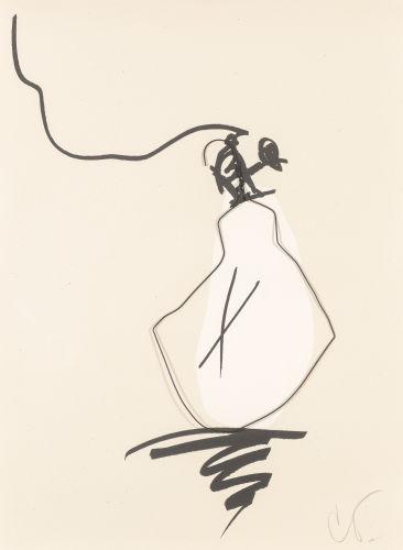 Claes Oldenburg-Hard Times Bulb - Day-1995