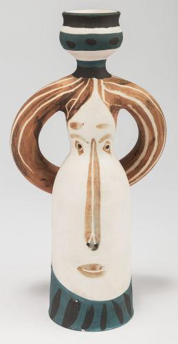 Pablo Picasso-Lampe femme (A. R. 294)-1955