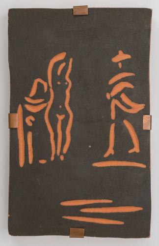 Pablo Picasso-Femme et toreador-1968