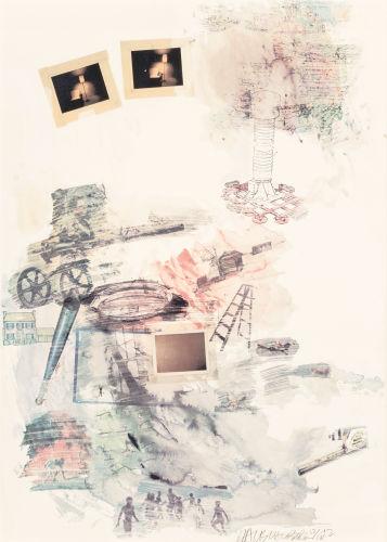 Robert Rauschenberg-Lichen-1972