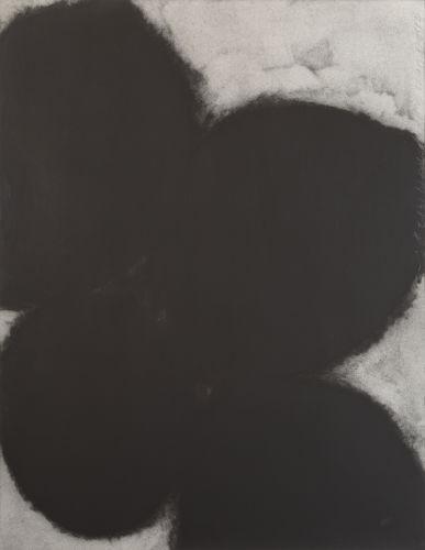 Donald Sultan-Black Lemons and Egg, April 14-1987