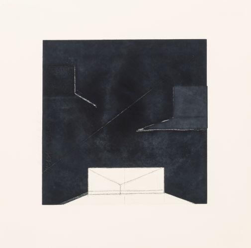 Donald Sultan-Water Under the Bridge (three works)-1979