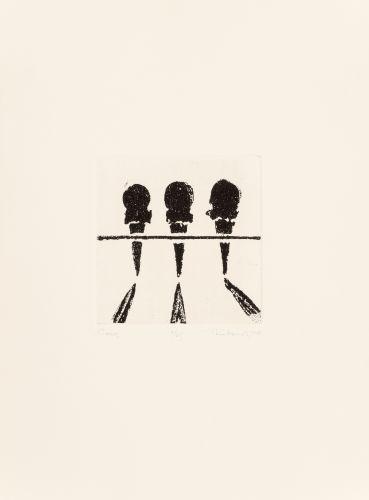 Wayne Thiebaud-Three Ice Cream Cones-1964