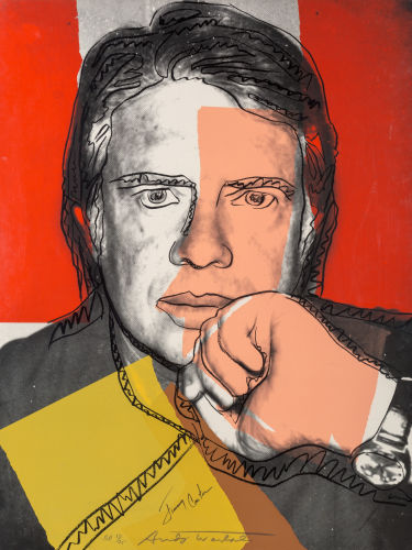 Andy Warhol-Jimmy Carter I-1976