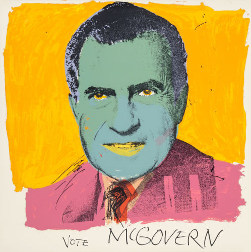 Andy Warhol-Vote McGovern-1972