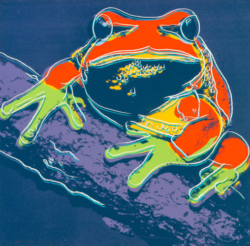 Andy Warhol-Pine Barrens Tree Frogfrom the Endangered Species portfolio-1983