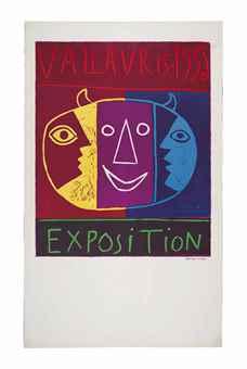 Pablo Picasso-Vallauris 1956 Exposition-1956