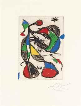 Joan Miro-Barb III-1987
