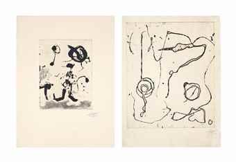 Joan Miro-Ocells de Montroig I-V-1982