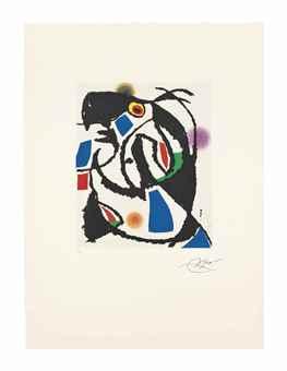 Joan Miro-Les Montagnerds I-1990