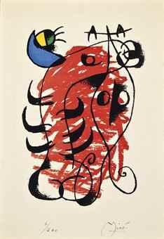 Joan Miro-La Boite Alerte-1959