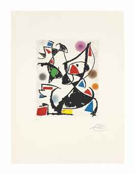 Joan Miro-Les Montagnerds V-1990
