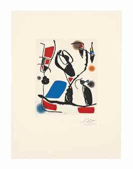 Joan Miro-Les Montagnerds VI-1990