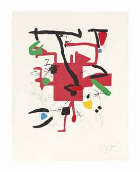 Joan Miro-Son Abrines III-1987
