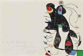 Joan Miro-Paroles Peintes V-1975