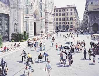 Massimo Vitali-Firenze Via Via, from A Portfolio of Landscapes and Figures-2006