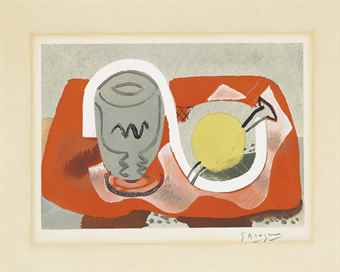 Georges Braque-After Georges Braque - Still life with lemon-1934