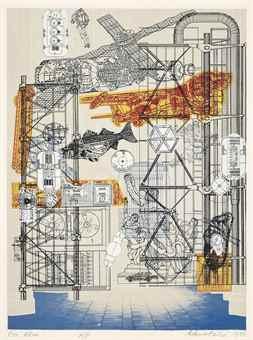 Eduardo Paolozzi-Blueprints for a New Museum-1980