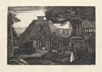 Graham Sutherland-St. Mary Hatch-1926