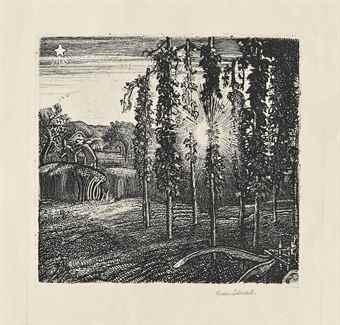 Graham Sutherland-Cray Fields-1925