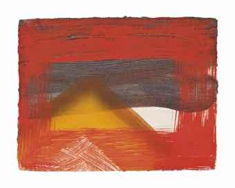 Howard Hodgkin-Snow-1995