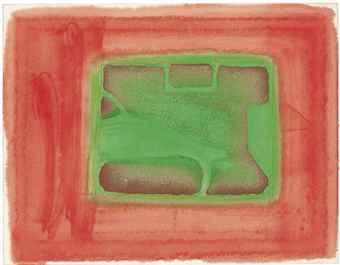 Howard Hodgkin-A Furnished Room-1977
