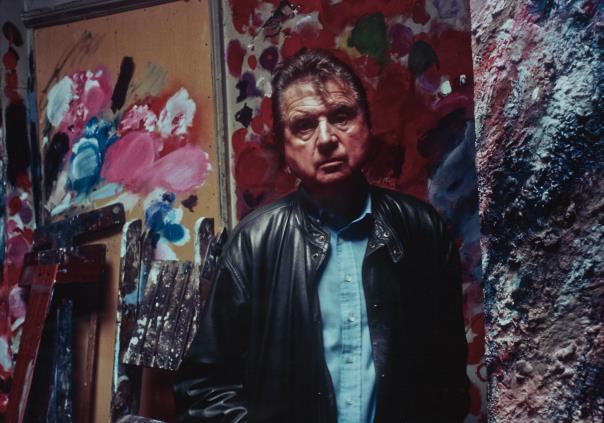 Bruce Bernard-Francis Bacon In His Studio, Reece Mews-1983