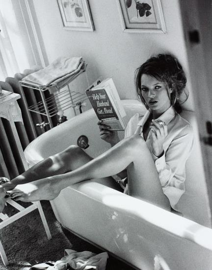Sante D'Orazio-Kate Moss, Glenn Cove, N.Y.-1995