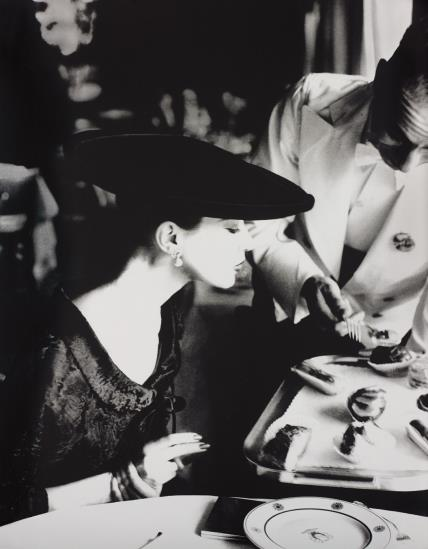 Lillian Bassman-The Little Furs, Barbara Mullen, Russian Broadtail Jacket By Trigere And Hat By Lilly Dache, Essex House, New York-1955