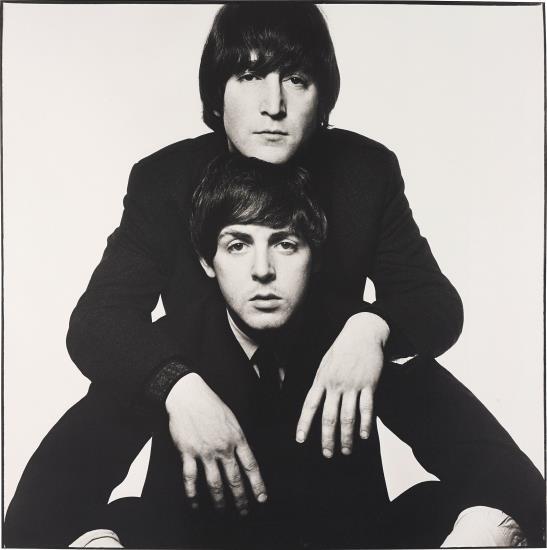 David Bailey-John Lennon And Paul Mccartney, January-1965