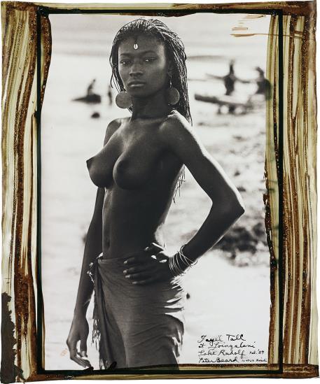 Peter Beard-Fayel Tall At Loingalani, Lake Rudolf, Kenya, February-1987