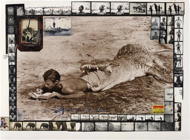 Peter Beard-I'Ll Write Whenever I Can, Koobi Fora, Lake Rudolf, Kenya-1965