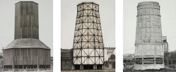 Bernd and Hilla Becher-Kuhlturme (Cooling Towers)-1967