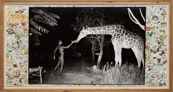 Peter Beard-Maureen And A Late-Night Feeder, 2.00 Am, Hog Ranch-1987
