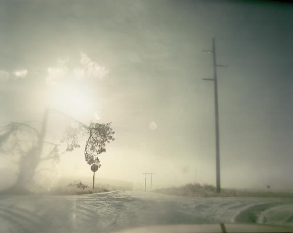 Todd Hido-Untitled, #6097 From A Road Divided-2007