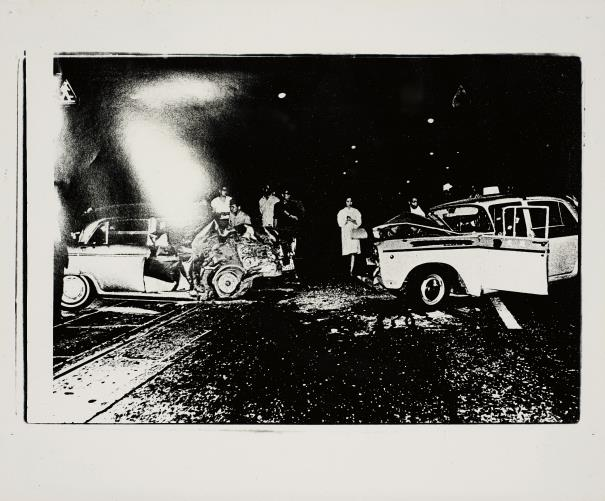 Daido Moriyama-Smash-Up From Akushidento Accident-1969