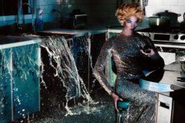 Steven Klein-Woman In Kitchen-2011
