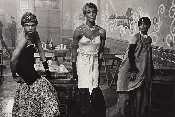 Diane Arbus-Three Transvestites In Evening Dress At A Lounge, N.Y.C.-1961