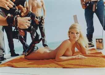 David LaChapelle-Pamela Anderson Voluptuous Attentions-2001