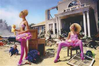 David LaChapelle-Vogue War Kids-2005