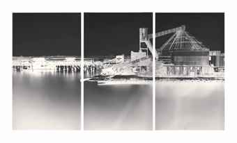 Vera Lutter-Erie Basin, Red Hook, VI: September 17-2003