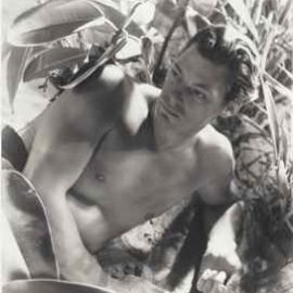 Cecil Beaton-Johnny Weissmuller as Tarzan-1932