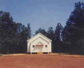 William Christenberry-Church, Near Marion, Alabama-1976