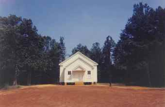 William Christenberry-Church, Near Marion, Alabama-1976