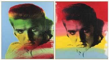 Steve Kaufman-Elvis-1990