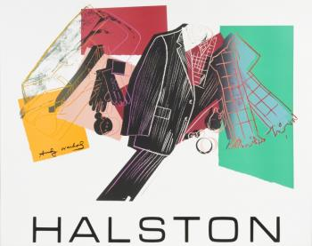 Andy Warhol-Halston Advertising Campaign Posters, (i) Men's Accessories; (ii) Women Accessories-1982