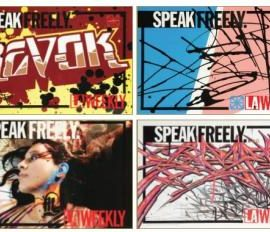 Revok-Saber-Push-Retna-7Th Letter La Weekly Newspaper Street Box Inserts Including Retna, Saber And Revok-2006