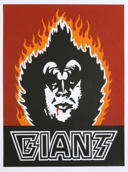 Shepard Fairey-Kiss Giant-1999