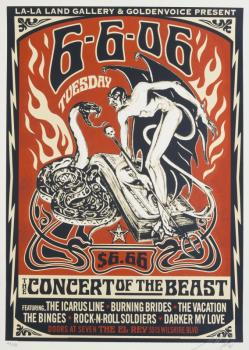 Shepard Fairey-Concert For The Beast-2006