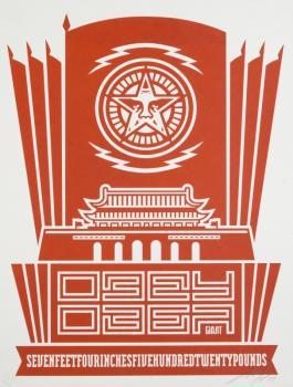 Shepard Fairey-Chinese Democracy-2004